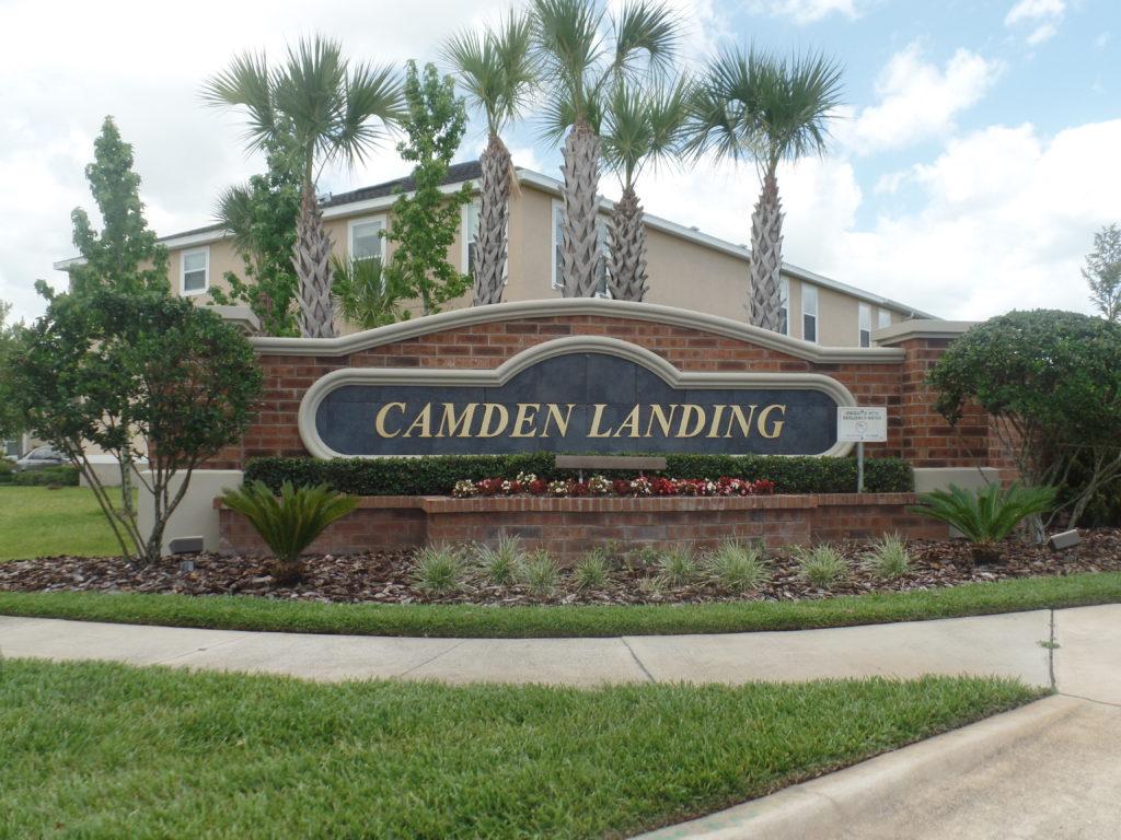 Camden Landing Sign