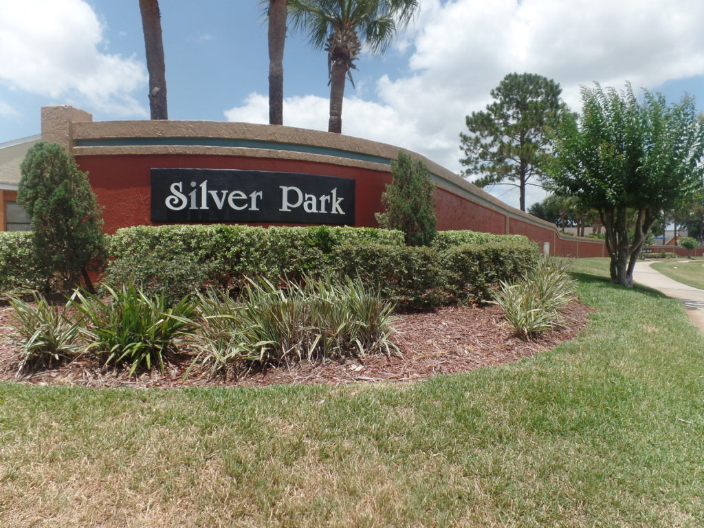 Silver Park Sign