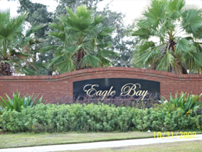 Eagle Bay Home Sign