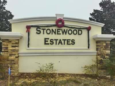 Liberty Square/Stonewood Estates Sign
