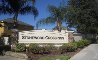Stonewood Crossings Sign