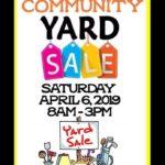 Yard Sale! 04/06/19